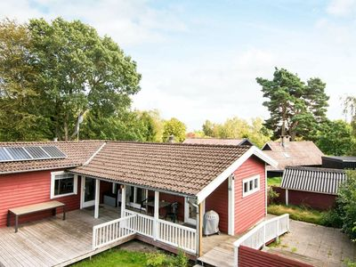 Photo for Scenic Holiday Home in Ørsted with Sauna