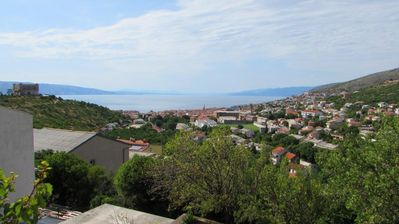 Photo for Holiday apartment with terrace and sea view
