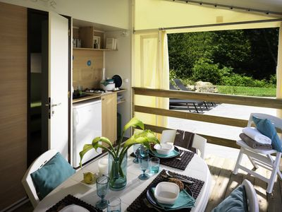 Photo for Camping de l'Ile d'Or ** - Tithome 3 Rooms 4 People