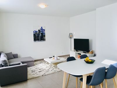 Photo for Bright apartment, heart of Annemasse city.