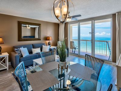 Photo for Pelican Beach 11th floor - on the beach - Updated unit with gorgeous views.