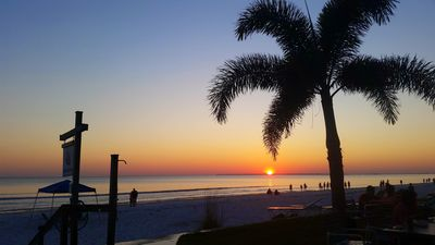 Photo for Flexible cancellation! Luxury, direct Gulf front condo mid Island - great views!