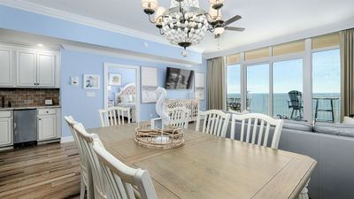 Photo for NEW to Rental Program. Be The 1st to Stay in this Brand New 3Bed/3Bath GULF FRONT Condo!