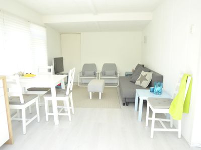 Photo for Wooden holiday house near beach Ouddorp