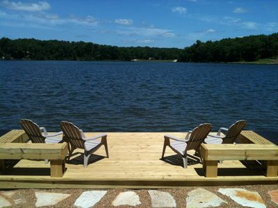 Photo for Best Private Beach On Lake Aspen