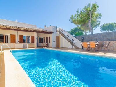 Photo for GARONDA VILLA - Villa with private pool in CALA PI.