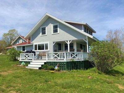 Photo for Quintessential New England Cottage Overlooking Beautiful Harpswell Sound