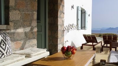 "Photo for ""The Olive Tree""Traditional house with sea view families/couples House2"