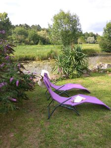 Photo for Pretty 2 bed riverside cottage in a Dordogne hamlet.