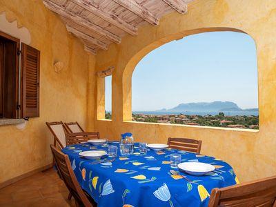 Photo for Holiday complex with sea view and pool - Appartamento Belvedere 25/2