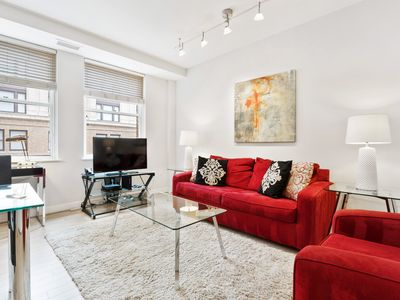 Photo for Contemporary 1BR | Laundry & Kitchen | Near GWU Hospital