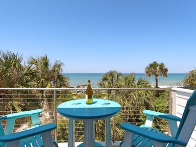 Photo for Architecturally unmatched home @ Secluded Dunes, Gulf-front,hot tub, elevator
