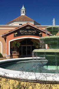 Regal Palms Resort and Spa Entrance