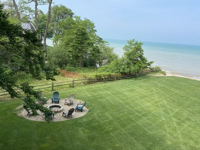 Photo for Lake Michigan House with Private Beach, Sleeps 12