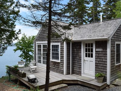 "Photo for The Boat House (or ""Honeymoon Suite"") on the Water's Edge of Blue Hill Bay, MDI"