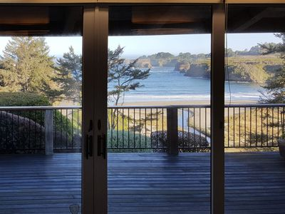 Photo for Waterfront home w/ private hot tub & secluded garden - minutes to beaches/towns!