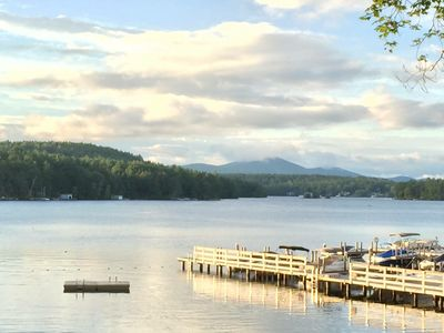 Photo for Cozy Cottage in best beach club on Lake Winnipesaukee.