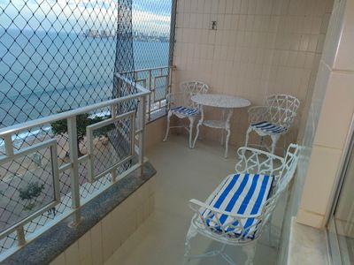 Photo for Excellent apart. facing the sea with balcony.