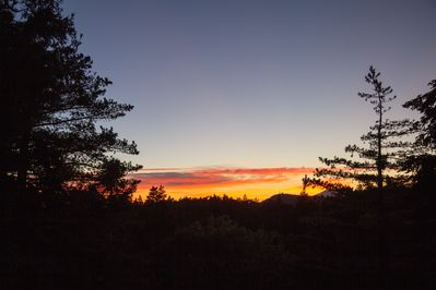 The most stunning sunsets year round, view from our home