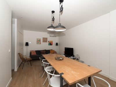 Photo for CHEMIN VERT LOFT 2 - Superb Loft for 8 (3 rooms) - BASTILLE - MARAIS
