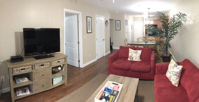 Photo for Modern, Renovated Quiet 2 Bedroom 2 Bath, Short Walk to Folly Beach