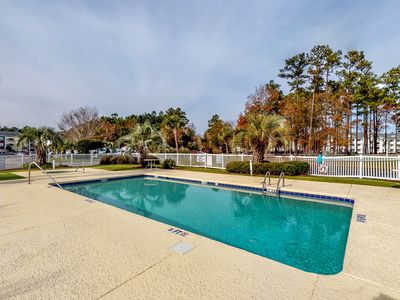 Photo for NEW LISTING! Golf course view condo w/ shared pool/hot tub & balcony- near beach