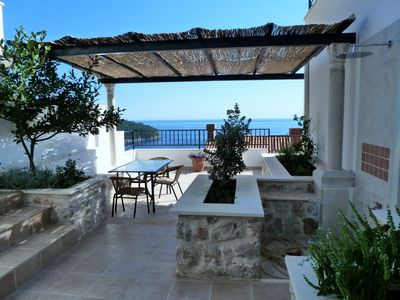 Photo for Sea and Island Views, Large Terrace; Walk to Old Town.