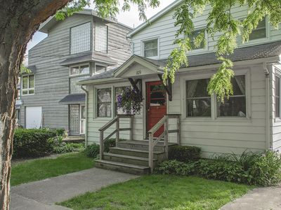 Photo for Steps from Lake Michigan beach, sleeps 12, private off street parking