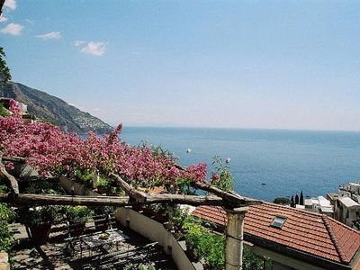 Photo for View home in Positano