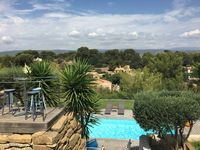 Stylish villa with excellent facilities and good views.