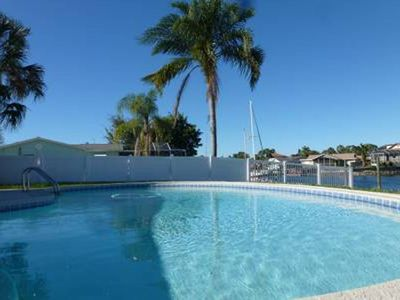 Photo for Waterfront, Pool, 220' Dock w/ Deep Water Fishing, Boat Rental, Private Beach!!!