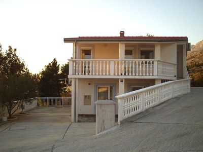 Photo for Three bedroom apartment with terrace and sea view Starigrad (Paklenica)