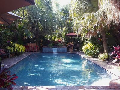 Photo for 3 Bedroom Home with a Tropical Backyard & HEATed SPA/Pool (NOLA STR Compliant)