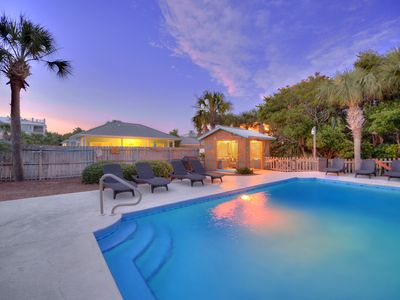 Photo for 5br Beach Views | HUGE Private Pool | Tiki Bar | 2 Kitchens | 2 Living Rooms