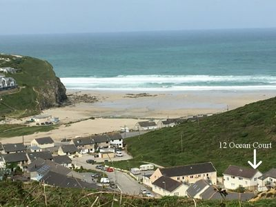Photo for Modern 2 bed house two minutes walk from sandy beach and SW coastal path