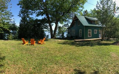 Photo for CLASSIC HISTORIC ADIRONDACK CAMP ON 200' OF LAKE GEORGE WATERFRONT