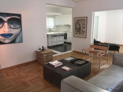 Photo for 130m Spacious Luxury Apartment Centrally Located