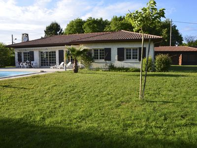Photo for 25% OFF SEPTEMBER - Family house with pool in Biscarrosse