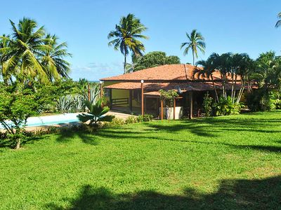 Photo for Homerez last minute deal - Nice chalet with pool access and Wifi