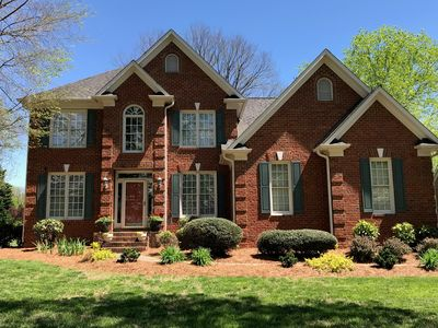Photo for Sedgefield. Steps from the golf course, minutes from Coliseum, Aquatic Center