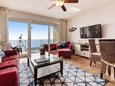 Photo for Beachfront Destin home w/ gulf views, private balcony & beach access