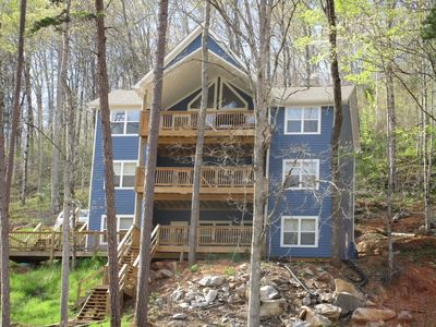 Photo for Hidden Treasure - Double Decker Dock w/Slide; Lots of Parking; Hot Tub