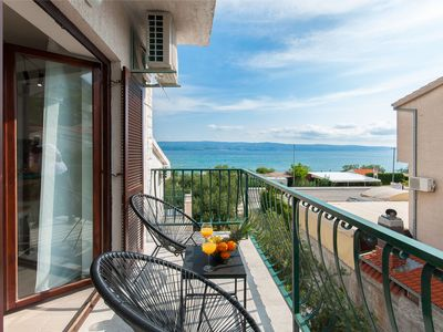 Photo for New modern Apartman AN&BE 20m from sea in beautiful place Duce