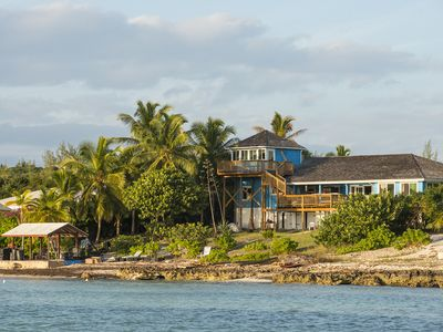 Photo for Oceanfront Cottage with Private Beach and Sunset Views on Balara Bay