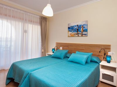Photo for BLUE COTILLO.  New apartment a few meters from the beach and overlooking the m