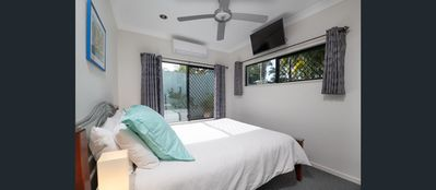 Photo for Beach bliss-Queen bed, BBQ, Pool, Netflix
