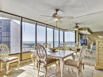 Photo for FREE DAILY ACTIVITIES!!! LINENS INCLUDED!* OCEAN VIEWS!  This luxury vacation duplex has a spectacular view of the Ocean