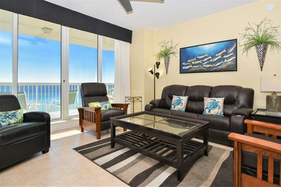 2 Silver Beach Towers E 805 - Living Area View 2
