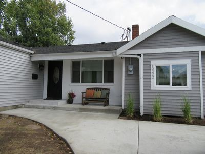 Photo for Affordable completely remodeled 4 bedrooms rambler, 11 miles to downtown Seattle