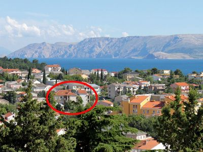 Photo for Apartment in Selce (Crikvenica), capacity 4+1